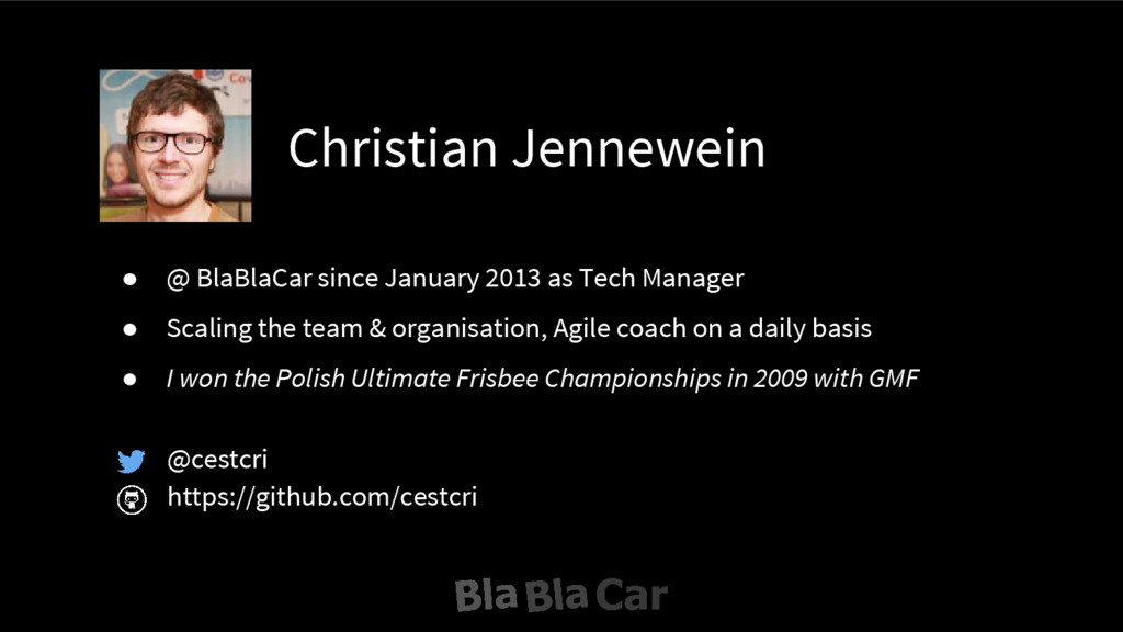Christian Jennewein @cestcri https://github.com...