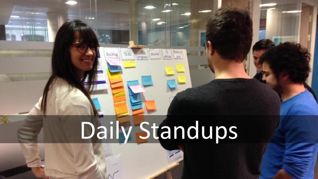 Daily Standups