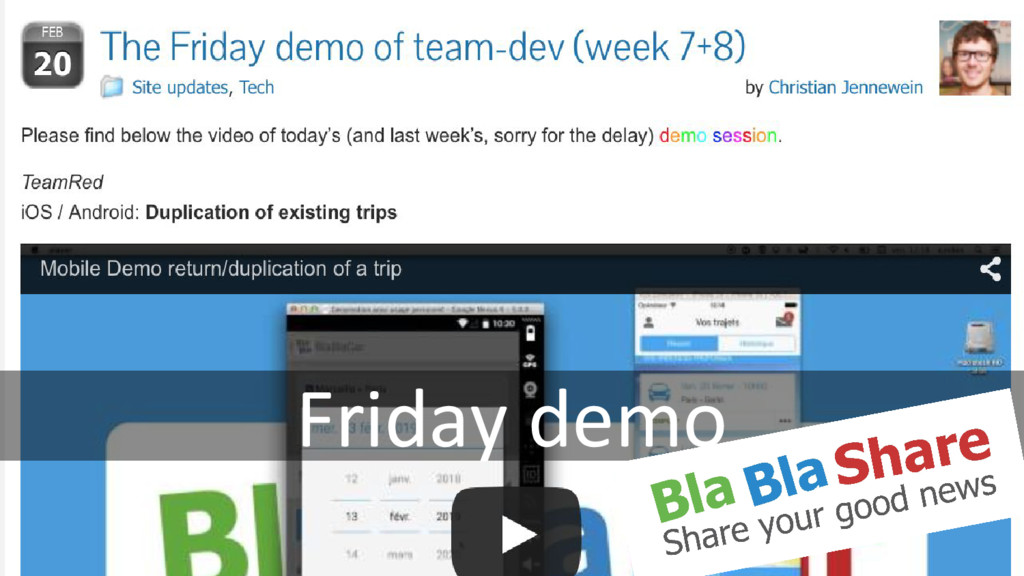 Friday demo