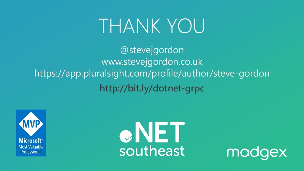 THANK YOU @stevejgordon www.stevejgordon.co.uk ...