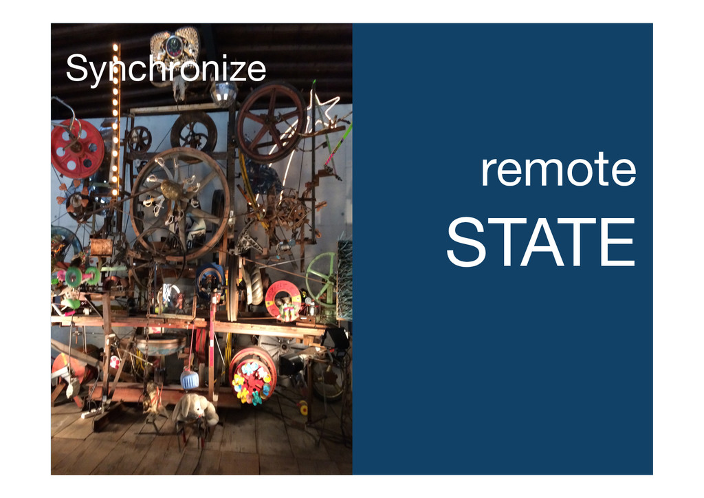 remote STATE Synchronize