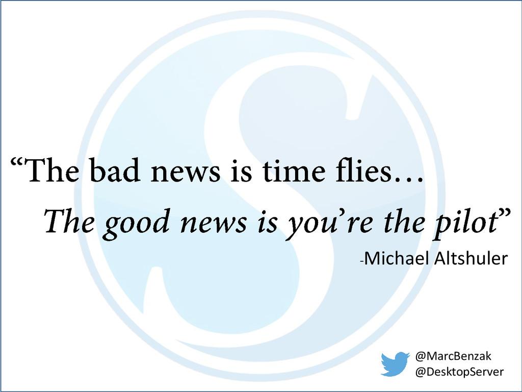 -Michael Altshuler @MarcBenzak @DesktopServer