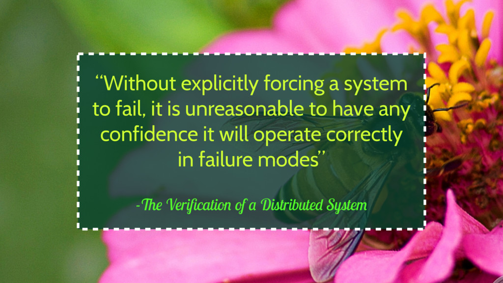 """-The Verification of a Distributed System """"Witho..."""