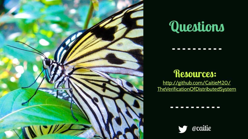 Questions @caitie http://github.com/CaitieM20/ ...