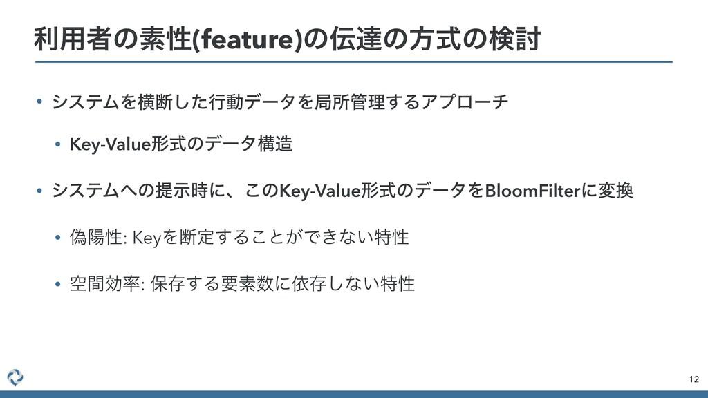 • γεςϜΛԣஅͨ͠ߦಈσʔλΛہॴཧ͢ΔΞϓϩʔν • Key-Valueܗࣜͷσʔλߏ...