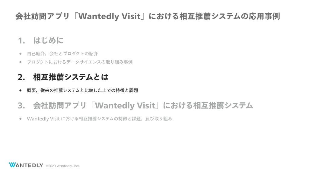 ©2020 Wantedly, Inc.  ͡Ίʹ w ࣗݾհɼձࣾͱϓϩμΫτͷ...