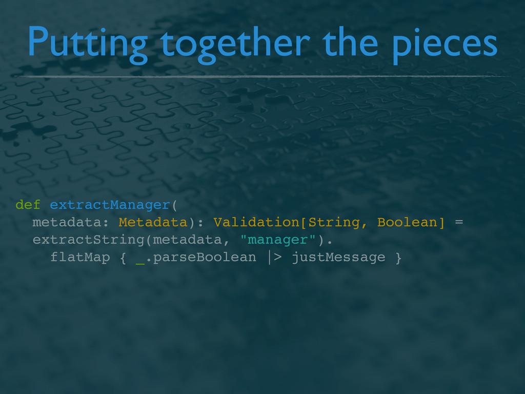 def extractManager( metadata: Metadata): Valida...