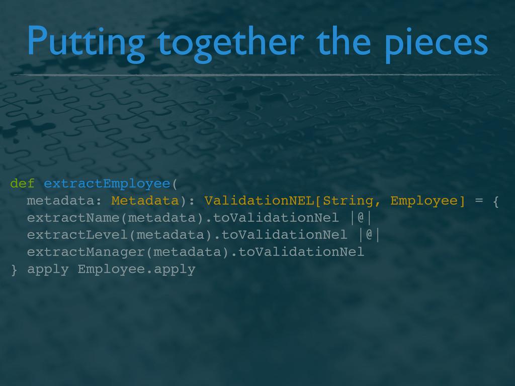 def extractEmployee( metadata: Metadata): Valid...