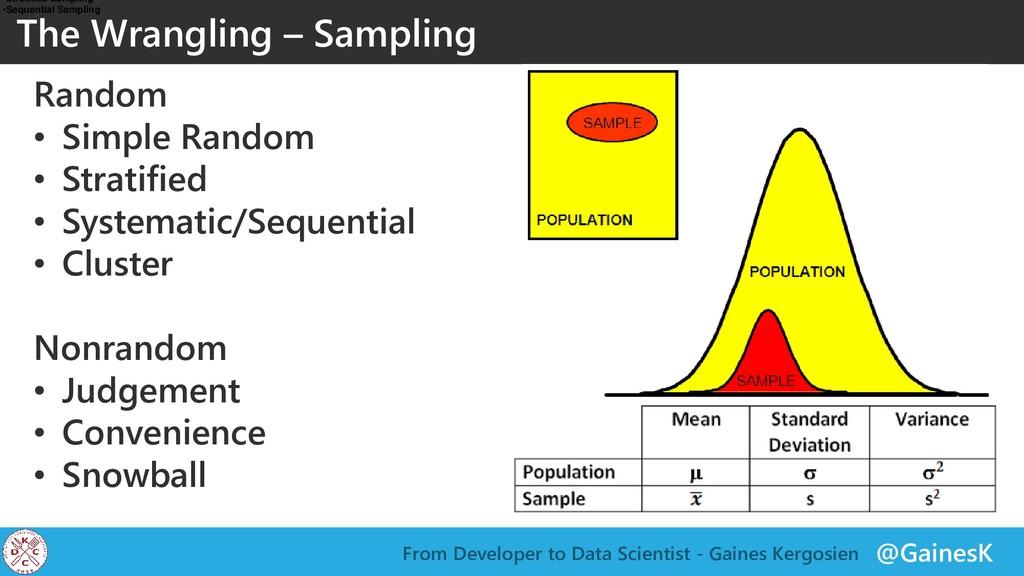 @GainesK From Developer to Data Scientist - Gai...
