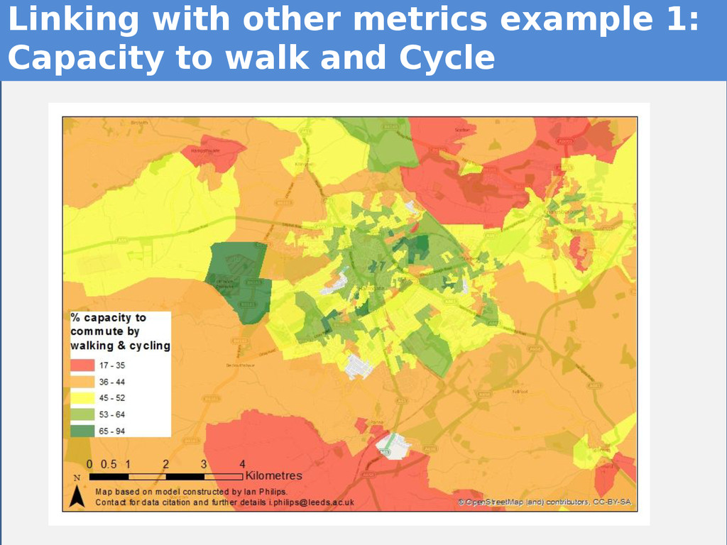 13 13 Linking with other metrics example 1: Cap...