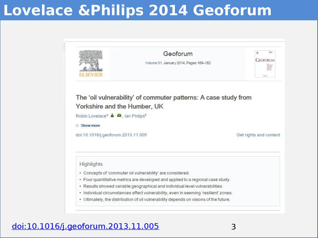 3 3 Lovelace &Philips 2014 Geoforum doi:10.1016...