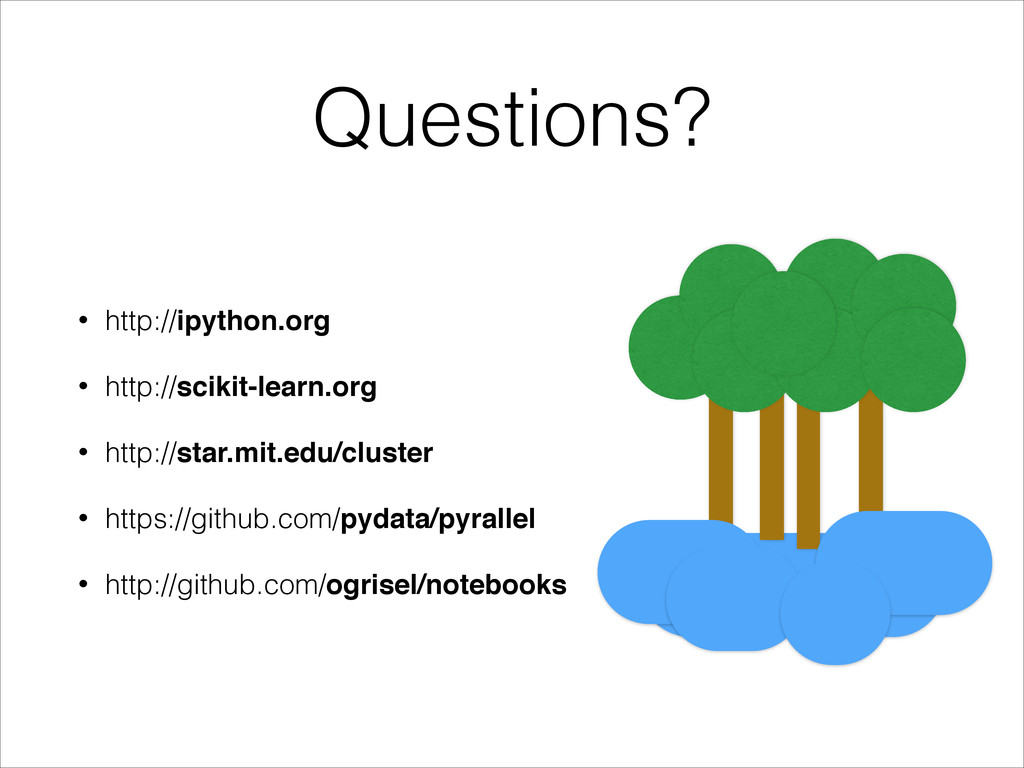 Questions? • http://ipython.org • http://scikit...