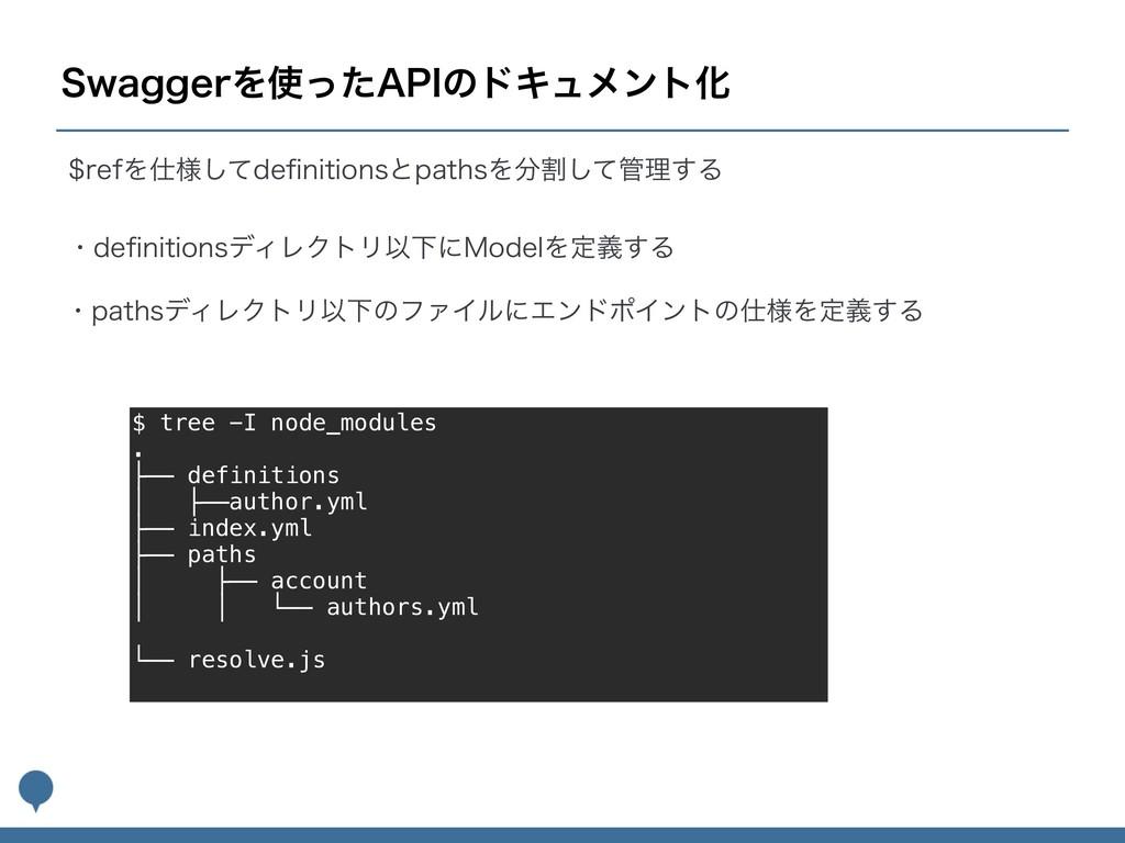 "4XBHHFSΛͬͨ""1*ͷυΩϡϝϯτԽ $ tree -I node_modules ...."