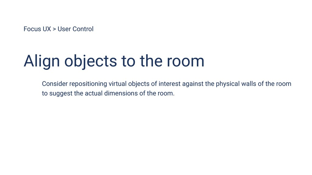 Focus UX > User Control Align objects to the ro...