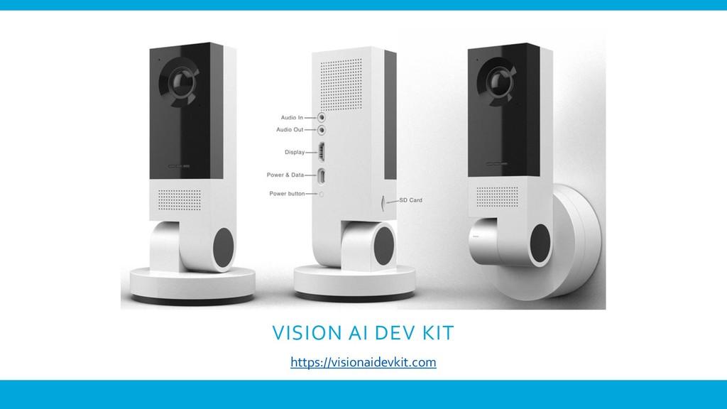 VISION AI DEV KIT https://visionaidevkit.com