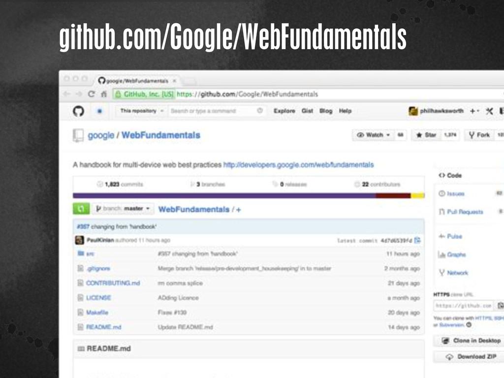 < }\ stu {}\ github.com/Google/WebFundamentals