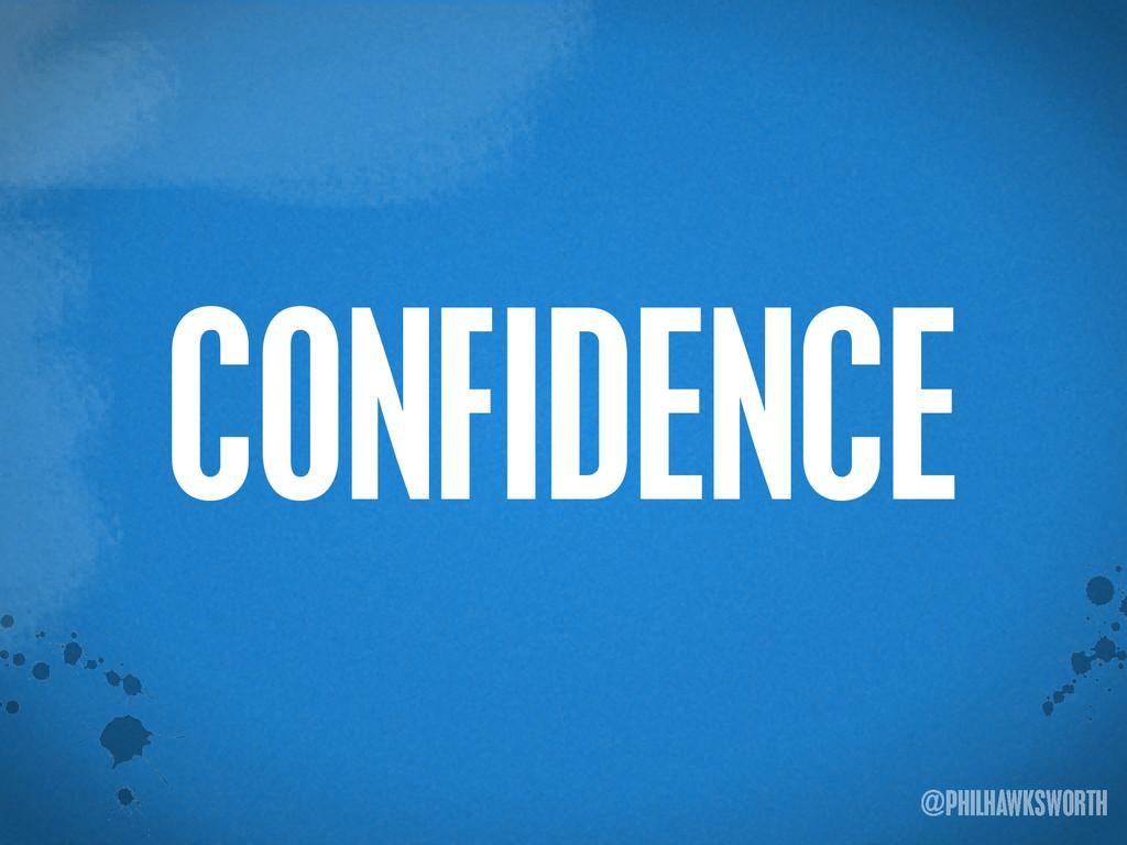 >< {}\ stu @PHILHAWKSWORTH CONFIDENCE