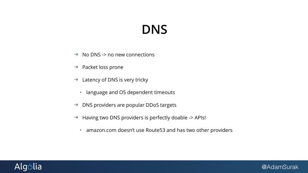 @AdamSurak DNS No DNS -> no new connections Pac...