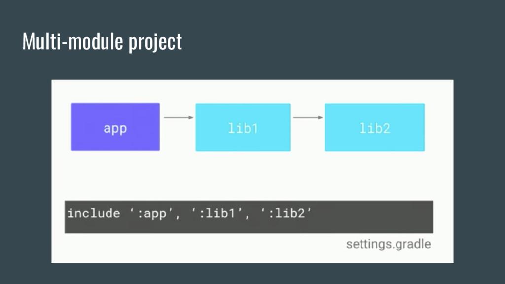 Multi-module project