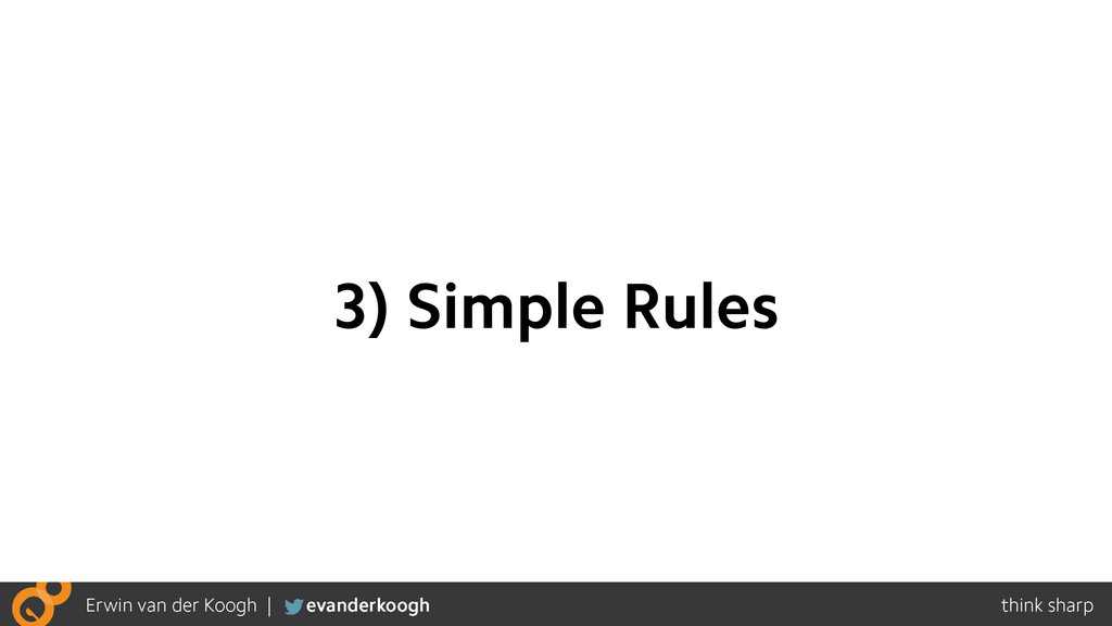 3) Simple Rules