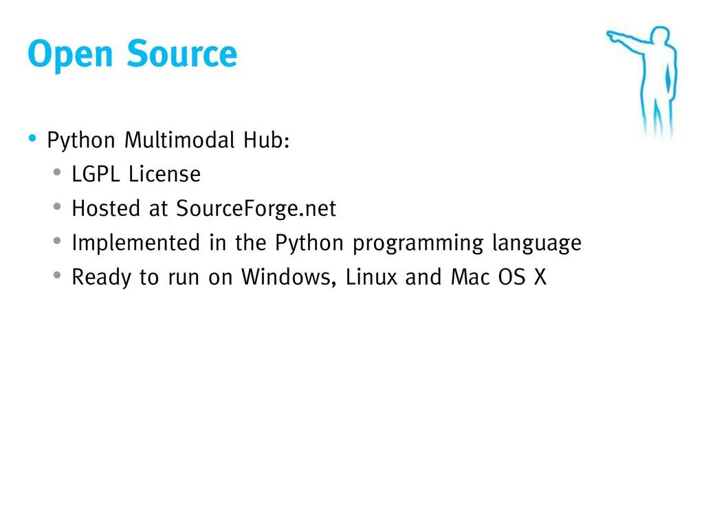Open Source • Python Multimodal Hub: • LGPL Lic...