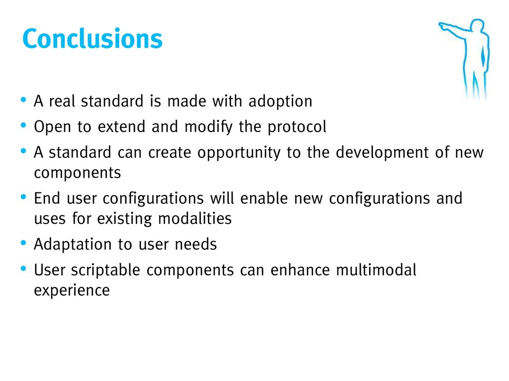 Conclusions • A real standard is made with adop...