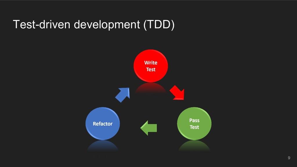 Test-driven development (TDD) 9