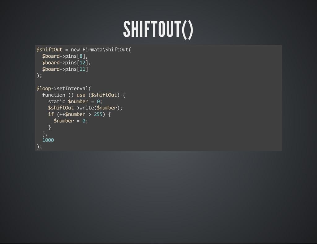 """SHIFTOUT() ɛ•Š‹ˆ–—–ʰ‡™ ‹""""ƒ–ƒɎŠ‹ˆ–—–ſ ..."""