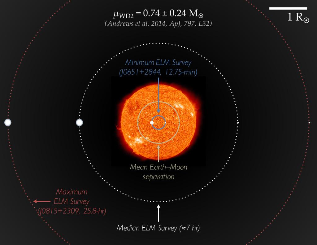 Mean Earth--Moon separation Minimum ELM Survey ...