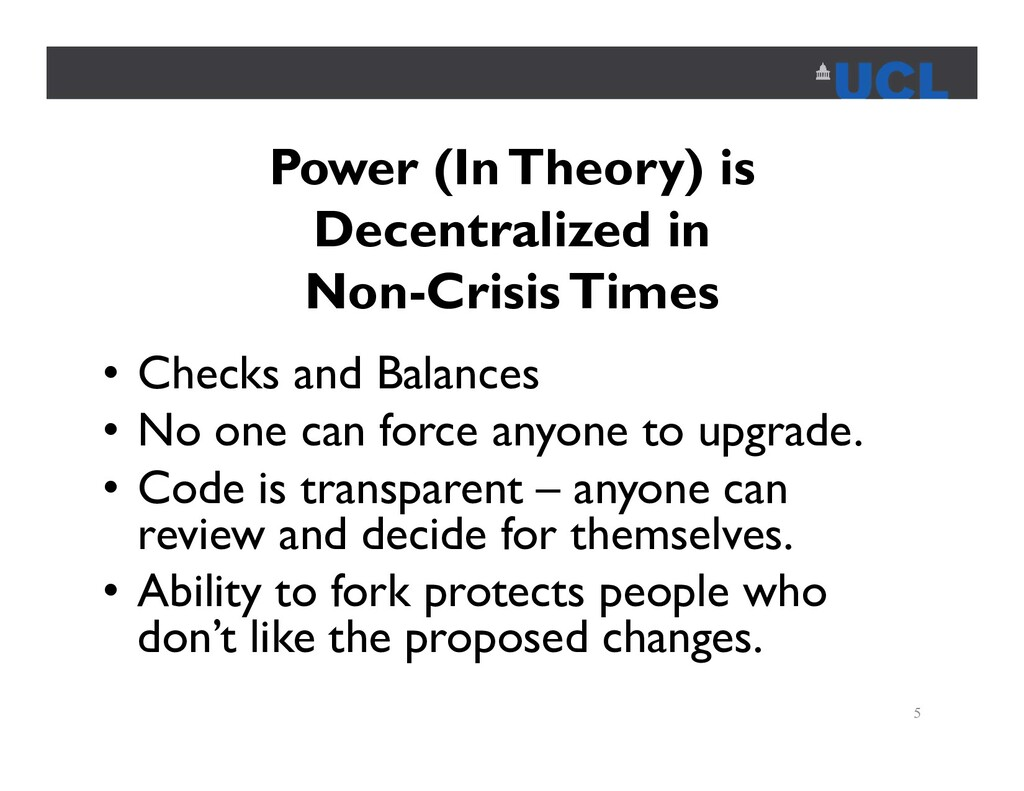 Power (In Theory) is Decentralized in Non-Crisi...