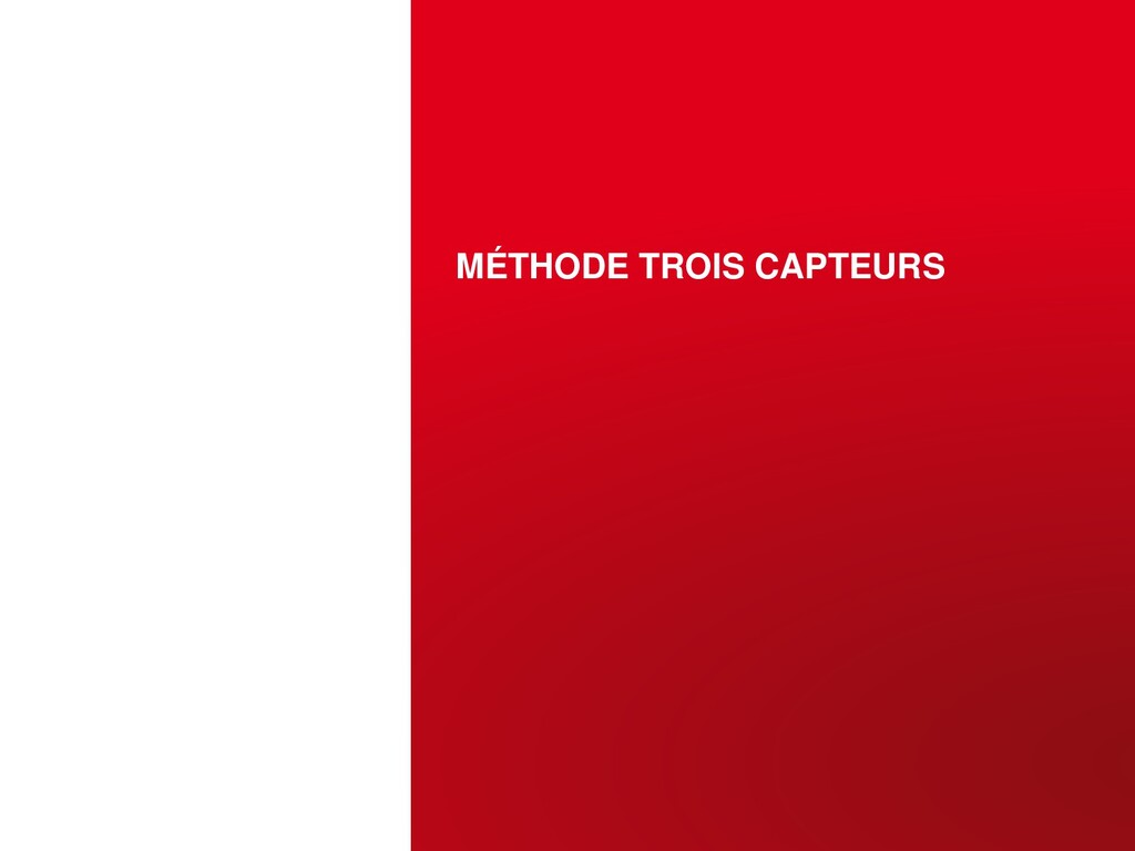 MÉTHODE TROIS CAPTEURS OCTOBRE 12, 2015 | PAGE ...