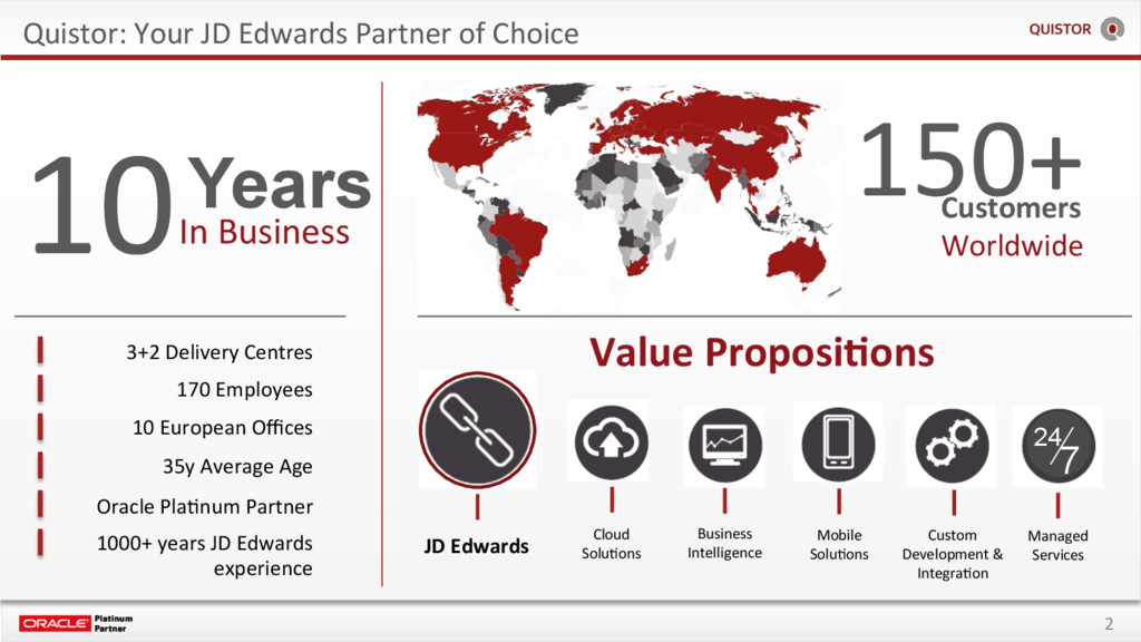 2 Quistor: Your JD Edwards Partner of Choice Cu...