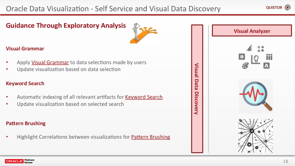 18 Oracle Data VisualizaEon - Self Service and ...