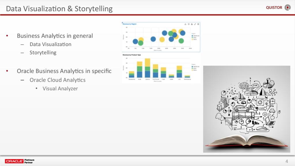 4 Data VisualizaEon & Storytelling • Business ...