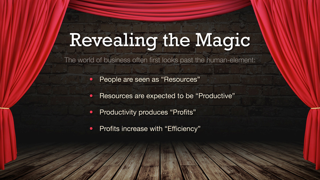 Revealing the Magic The world of business often...