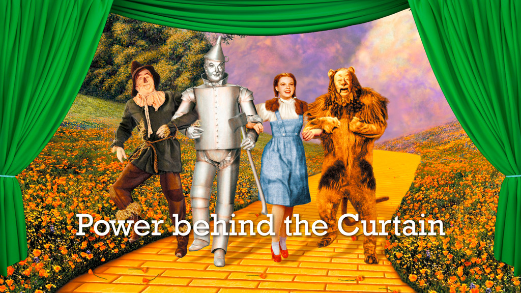 Power behind the Curtain