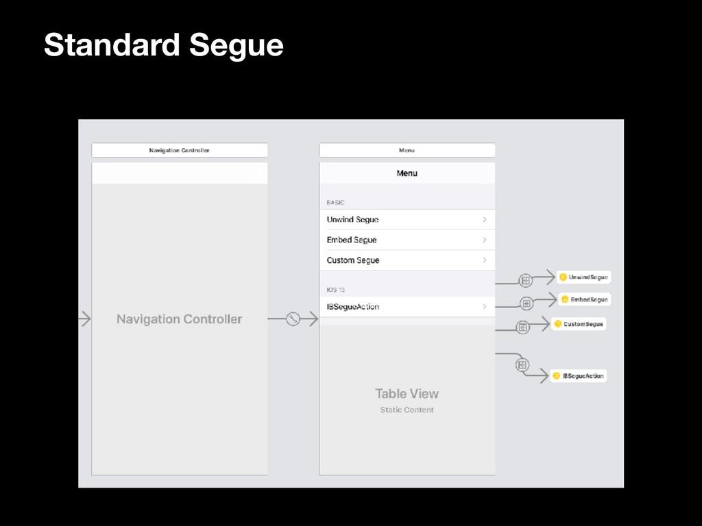 Standard Segue