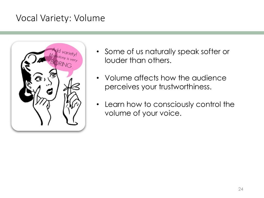 Vocal Variety: Volume 24 • Some of us naturally...