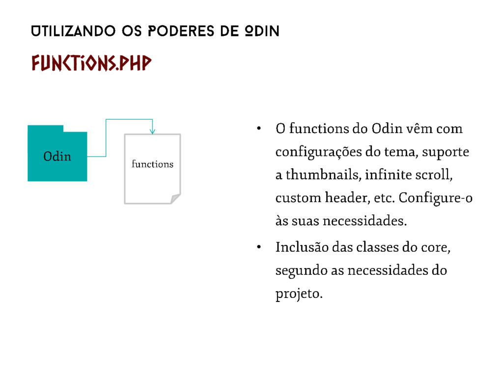 • • Functions.php