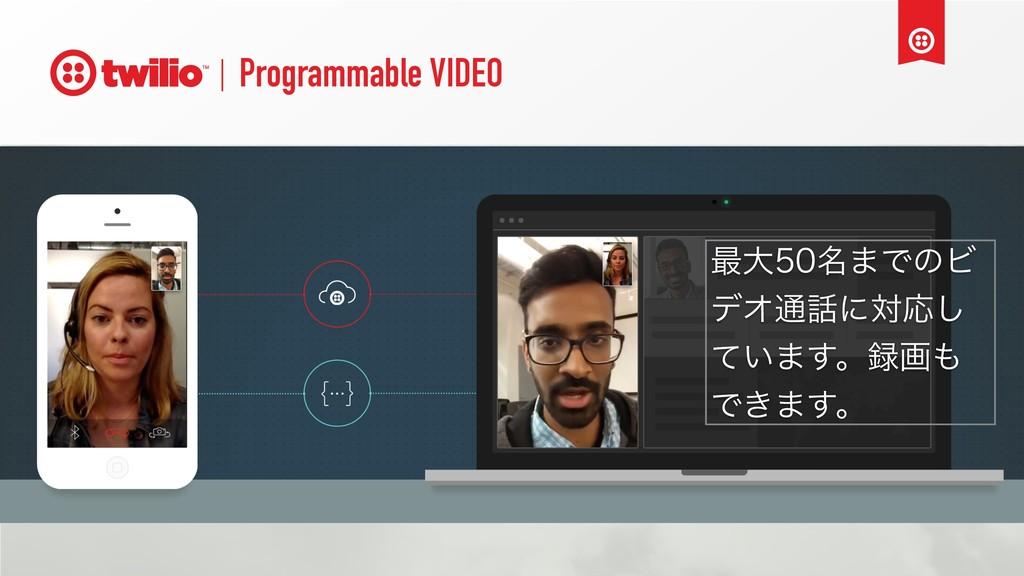Programmable VIDEO ࠷େ໊·ͰͷϏ σΦ௨ʹରԠ͠ ͍ͯ·͢ɻը ...