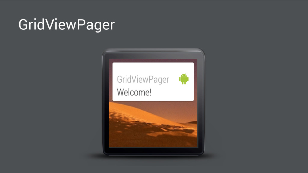 GridViewPager