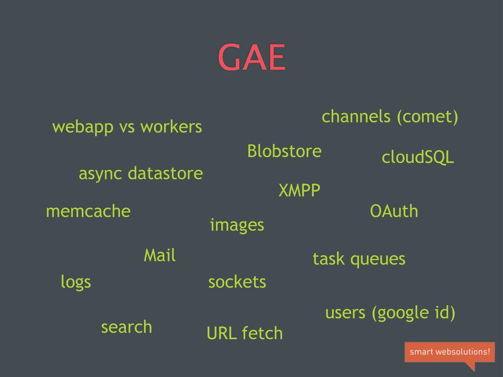 GAE webapp vs workers async datastore memcache ...