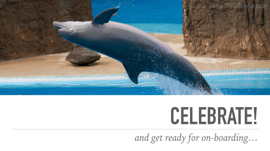 CELEBRATE! and get ready for on-boarding… https...