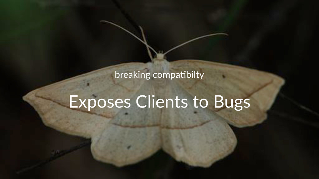 breaking)compa.bilty Exposes'Clients'to'Bugs