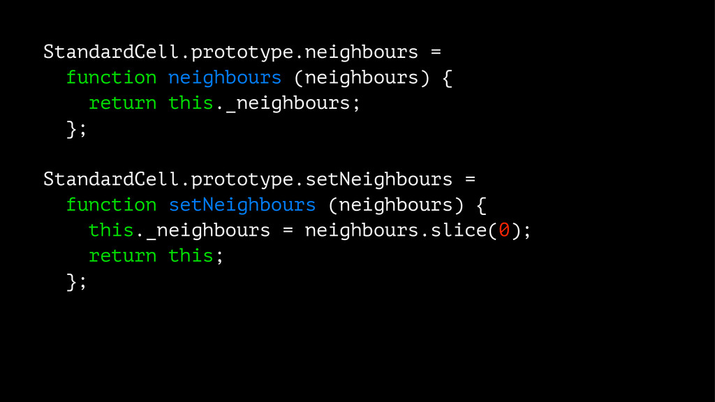 StandardCell.prototype.neighbours = function ne...