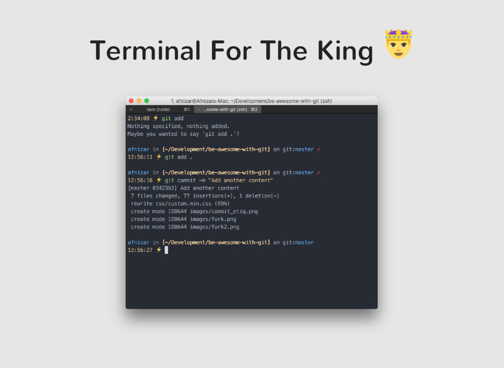 Terminal For The King