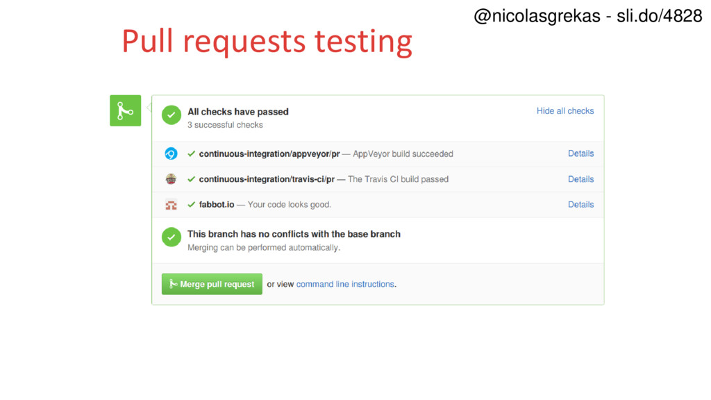 Pull requests testing @nicolasgrekas - sli.do/4...