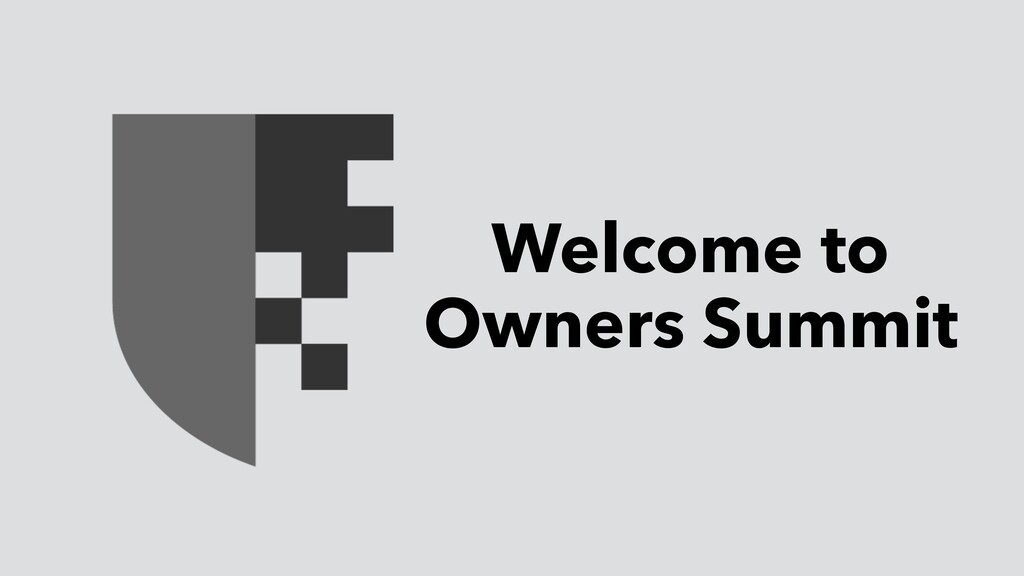 Welcome to Owners Summit