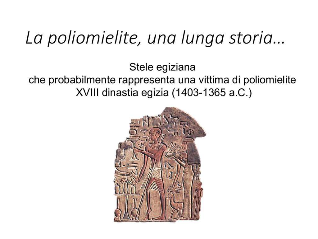 Stele egiziana che probabilmente rappresenta un...