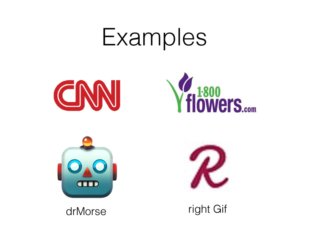 Examples  drMorse right Gif